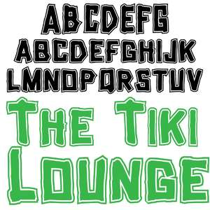 the tiki lounge
