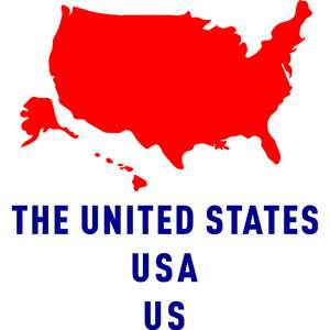 the united states country outline