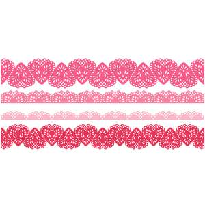 heart lace borders