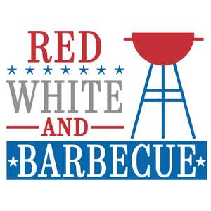 red white and barbecue