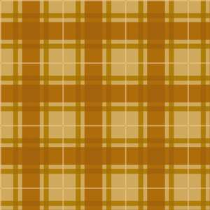 gold fall plaid pattern