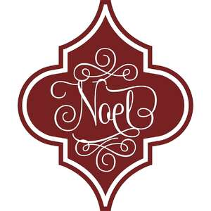 noel arabesque christmas ornament