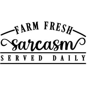 farm fresh sarcasm