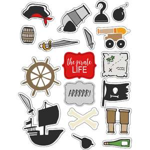 ml pirates things stickers