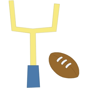football and goal post