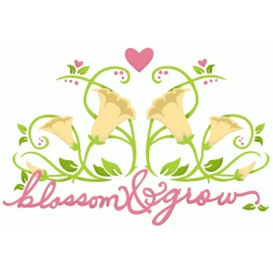 blossom and grow lilies