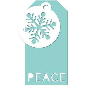 gift tag peace