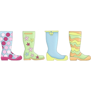 rainboots wellies