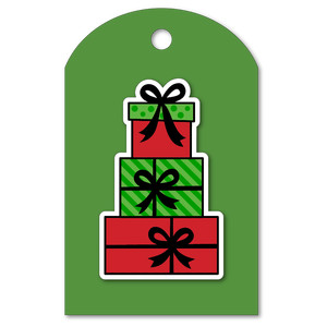 easy print + cut tag christmas-presents