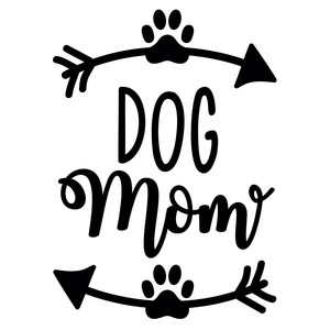 dog mom arrow