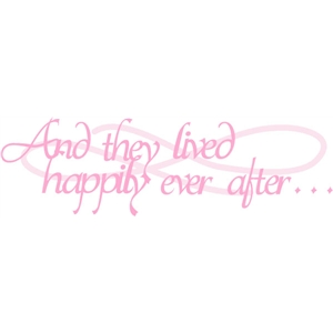 happily ever after phrase