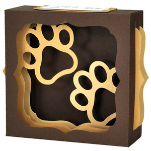 pawsome gift card box