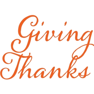giving thanks phrase