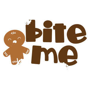 gingerbread spread - bite me