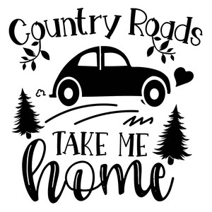 country roads take me home
