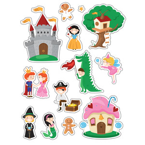 ml fairytale stickers