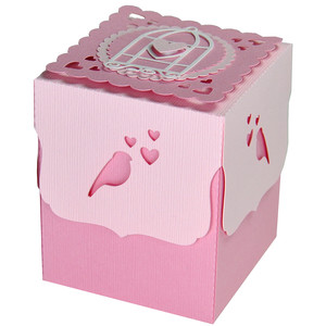 love bird valentine gift box