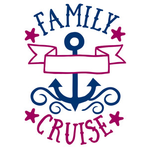 family cruise split anchor name frame