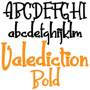 pn valediction bold