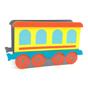train passenger wagon box