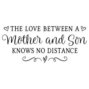 the love between a mother and son