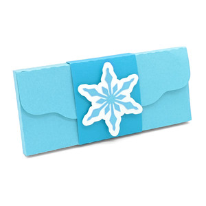 snowflake candy box