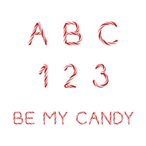 be my candy color font