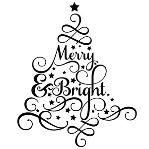 merry & bright tree