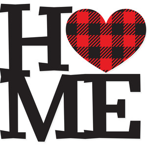 buffalo plaid home love
