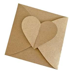 heart square envelope