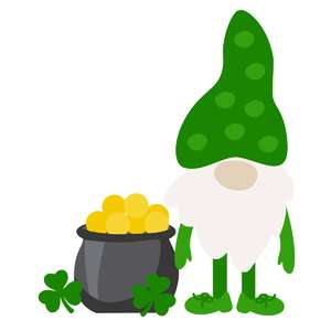 pot of gold gnome