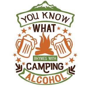 what rhymes with camping