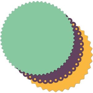 12x12 circle background shapes