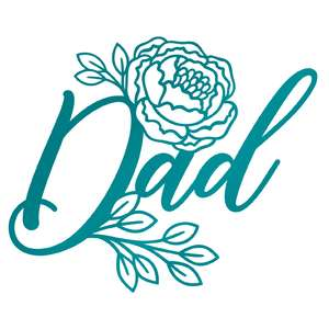 floral father's day design