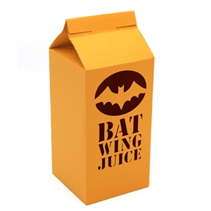 3d bat wing juice carton