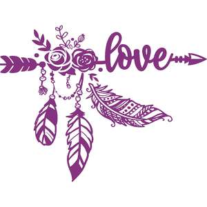 love boho arrow