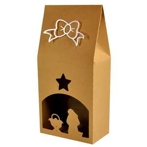 nativity upright gift box