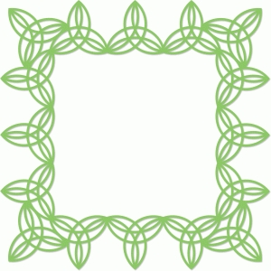 celtic knot frame