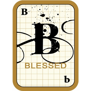 flashcard: blessed