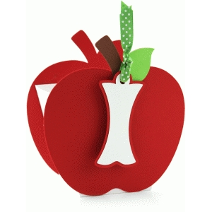 3d lori whitlock apple favor box