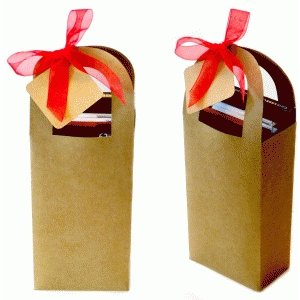 gourmet  chocolate tote box