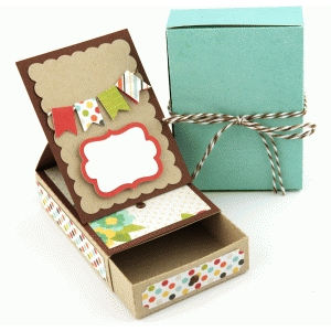 3d gift card box with easel card