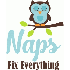 'naps fix everything' phrase