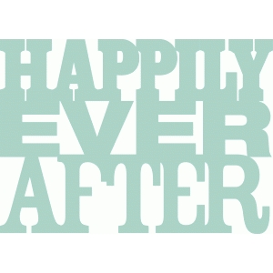 'happily ever after' phrase