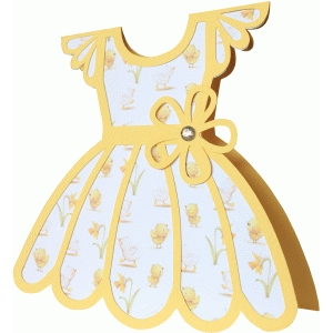 dress shape card