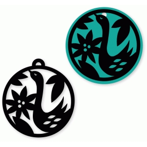 goose tag and ornament set