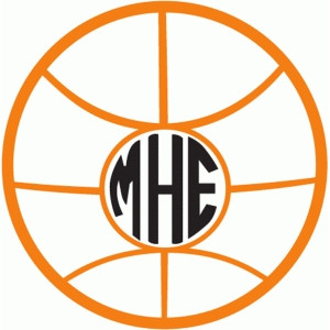 basketball monogram