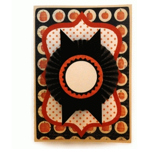 round rosette plaque a7 card kit