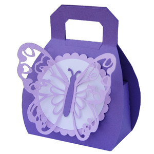 butterfly purse box