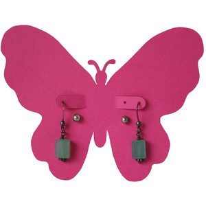 butterfly earring card